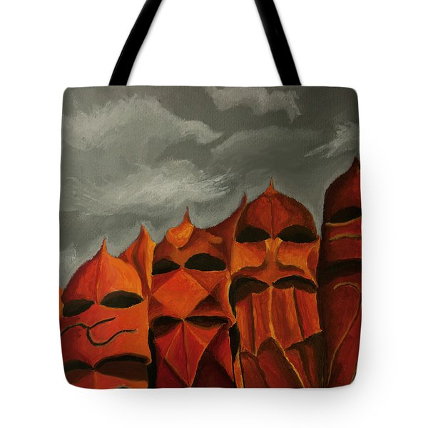The Premonition Tote Bag