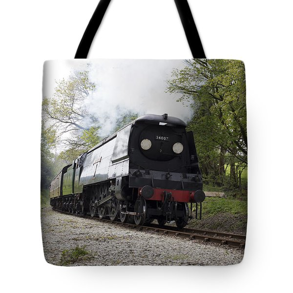 The Preserved Steam Locomotive 34007 Wadebridge Tote Bag