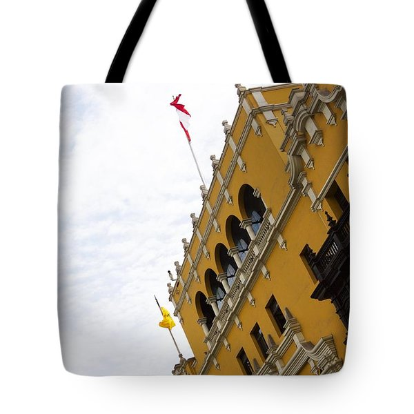 The Presidential Palace Tote Bag