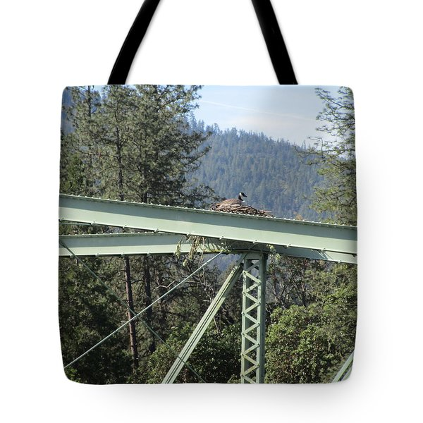 Tote Bag featuring the photograph The Pretender by Marie Neder