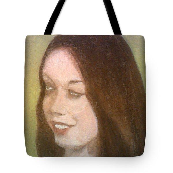 The Pretty Brunette Tote Bag