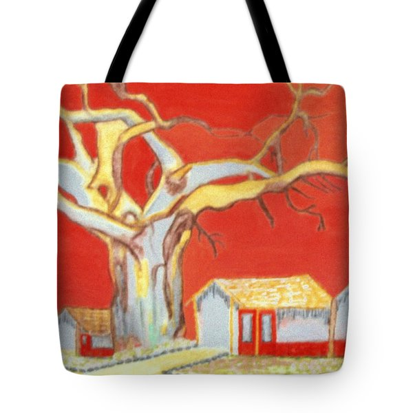 Tote Bag featuring the painting The Pride Of The Village by Connie Valasco