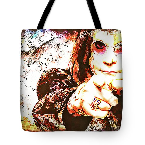 The Prince Of Darkness Tote Bag