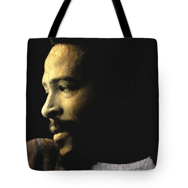 The Prince Of Soul - Marvin Gaye Tote Bag