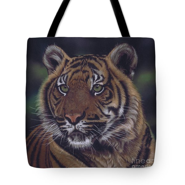 The Prince Of The Jungle Tote Bag