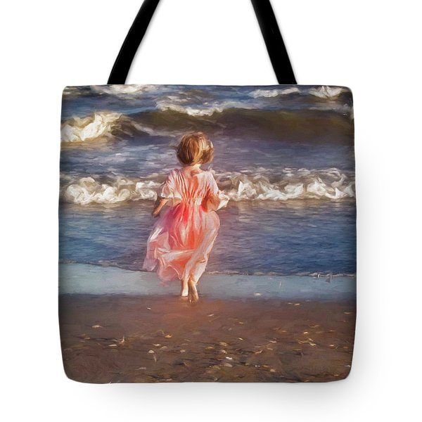 The Princess And The Sea Tote Bag