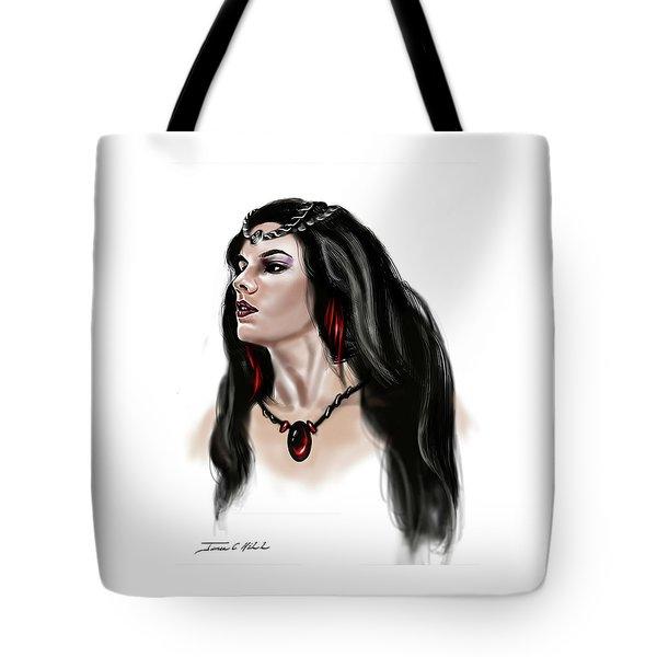 The Princess Morgana Tote Bag by James Christopher Hill