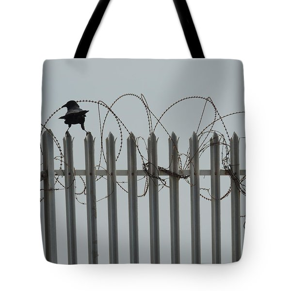 Tote Bag featuring the painting The Prisoner by Jeremy Holton