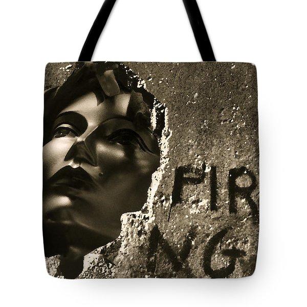 The Prisoner Tote Bag by Michael Mogensen