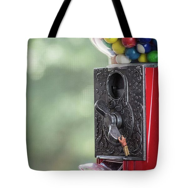 The Problem With Gumball Machines Tote Bag