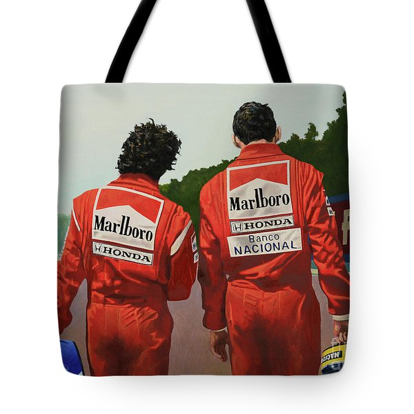 The Professor And The Magician Tote Bag
