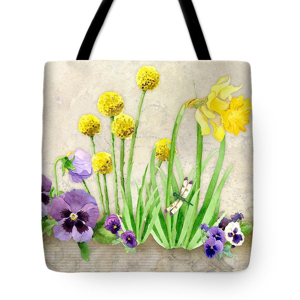 The Promise Of Spring - Dragonfly Tote Bag