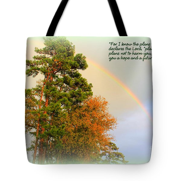The Promises Of God Tote Bag