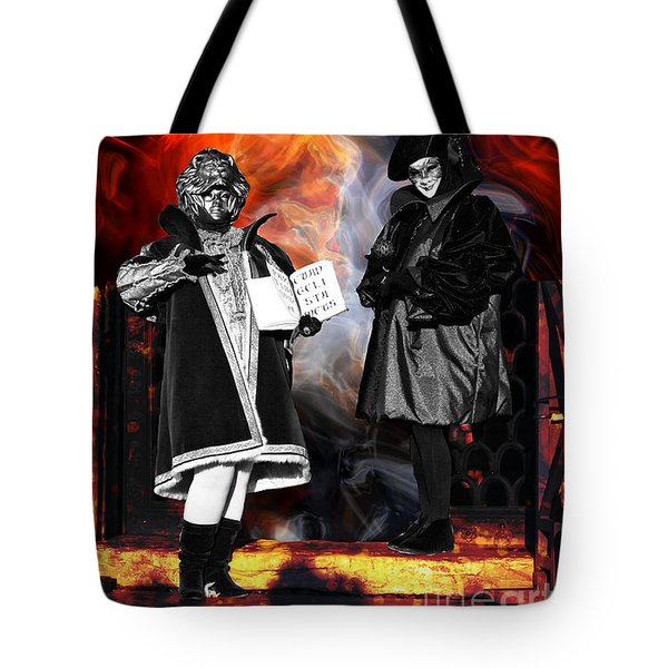 The Prophecy Tote Bag by John Rizzuto