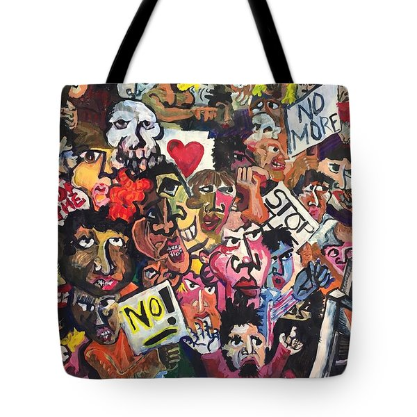 The Protest  Tote Bag by Jame Hayes