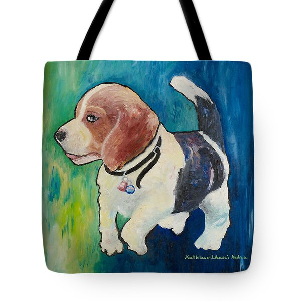 The Proud Puppy Tote Bag