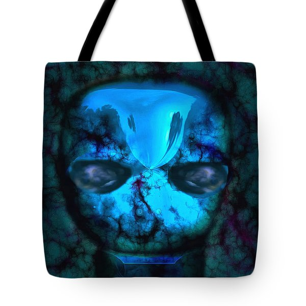 The Pukel Stone Face Tote Bag