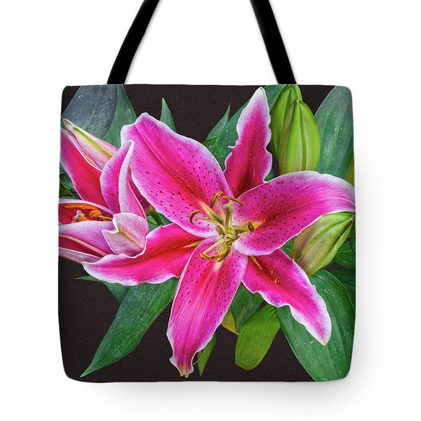 The Pulchritude Of Lady Lily Tote Bag