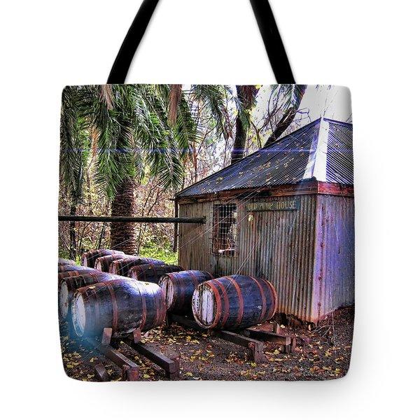 The Pumphouse Tote Bag by Douglas Barnard