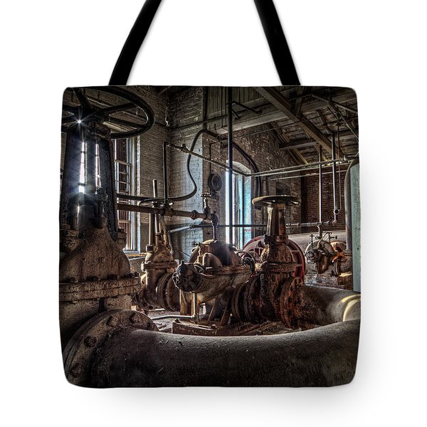 The Pumphouse Tote Bag by Everet Regal
