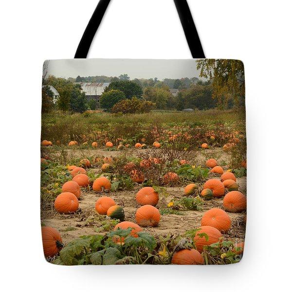 The Pumpkin Farm Two Tote Bag