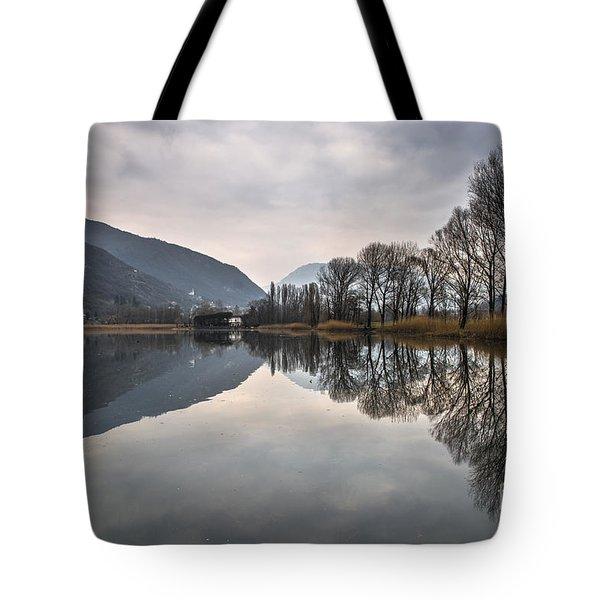 The Punctum Tote Bag by Yuri Santin