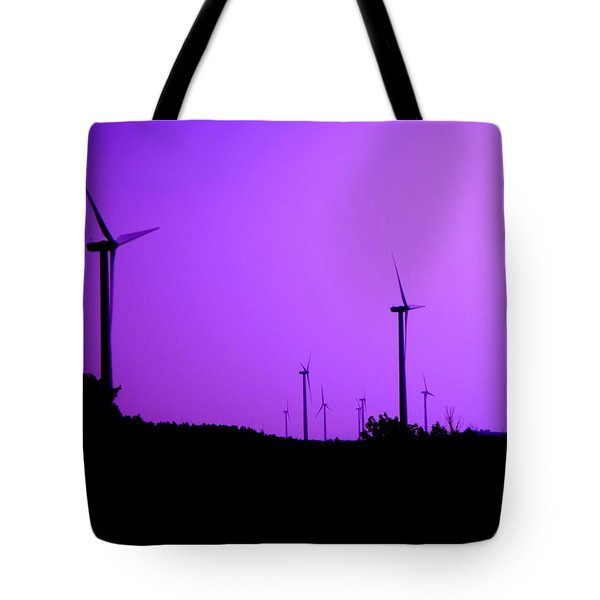 The Purple Expanse Tote Bag