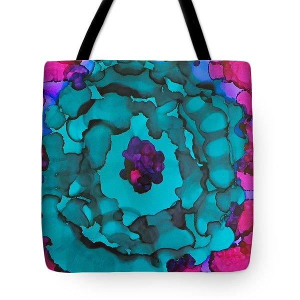 The Purple Eye Tote Bag