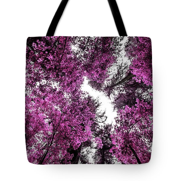 The Purple Forest Tote Bag
