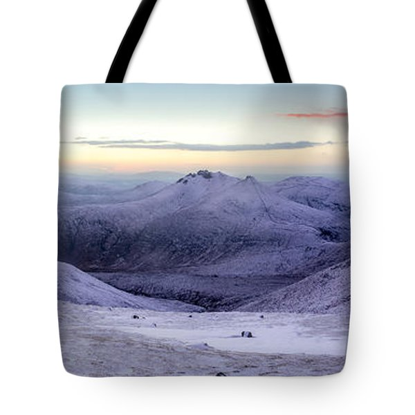 The Purple Headed Mountains Tote Bag