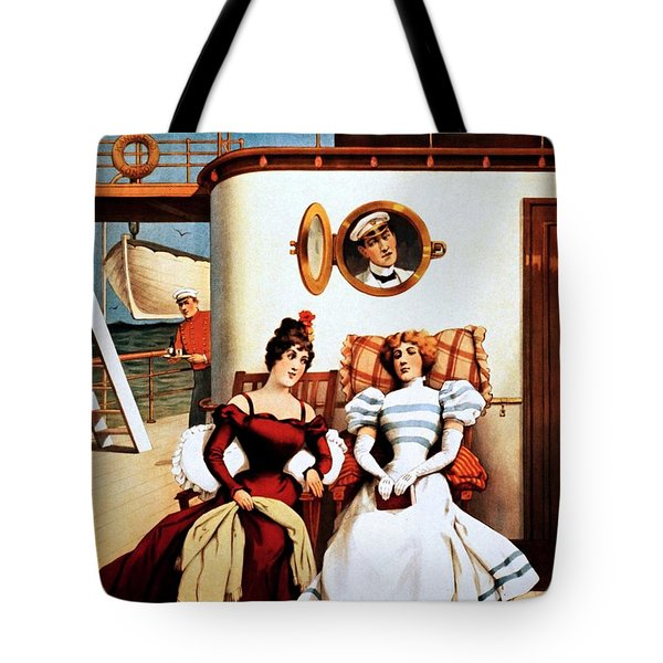The Purser, Theatrical Poster, 1898 Tote Bag