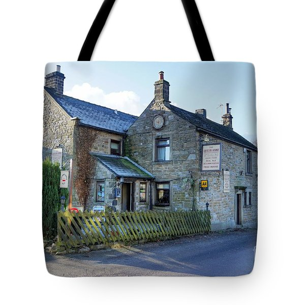The Queen Anne At Great Hucklow Tote Bag
