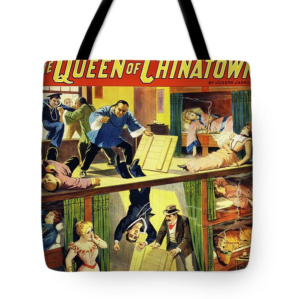 The Queen Of Chinatown Tote Bag
