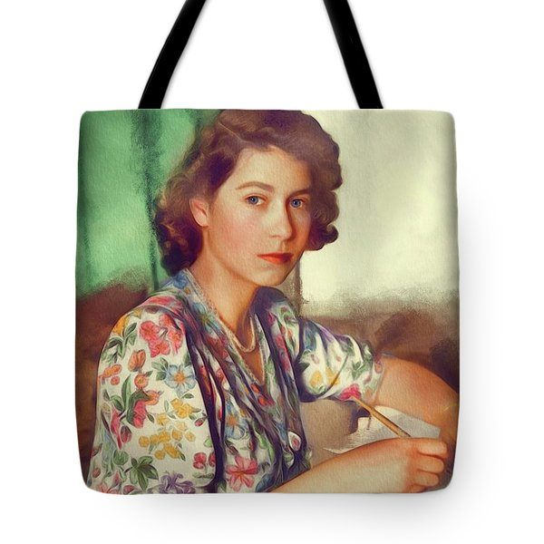 The Queen Of Great Britain Tote Bag
