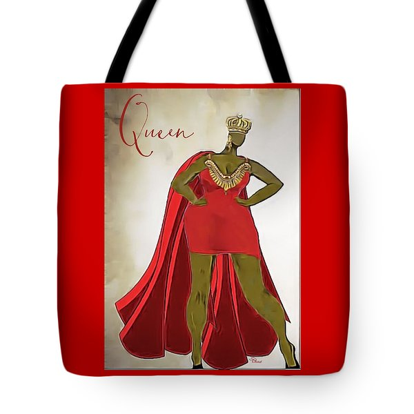 The Queen One Tote Bag