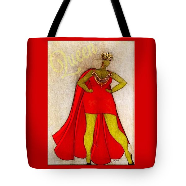 The Queen Two Tote Bag