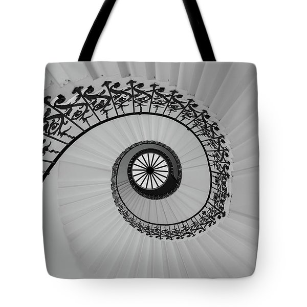 Tote Bag featuring the photograph The Queens House by David Chandler