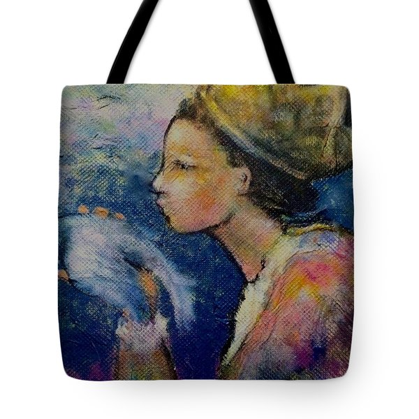 The Queen's Kiss Tote Bag