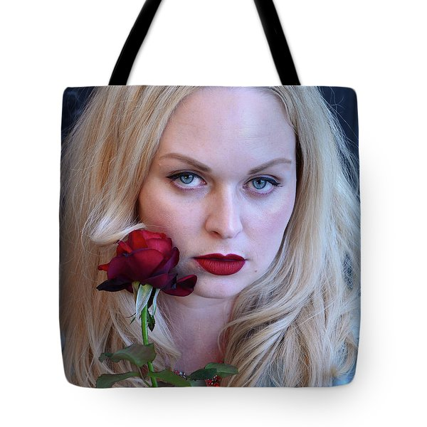 The Queen's Rose... Tote Bag