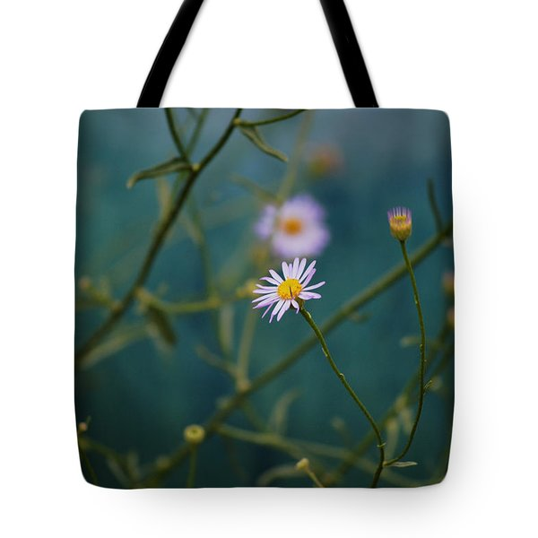 The Quiet Aster Tote Bag