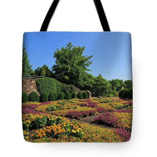 The Quilt Garden Tote Bag