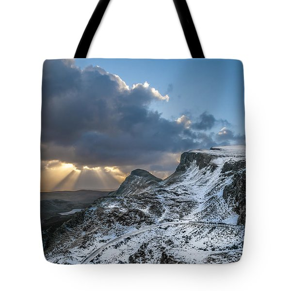 The Quiraing Just After Dawn Tote Bag