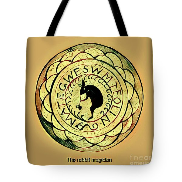 The Rabbit Magician Tote Bag