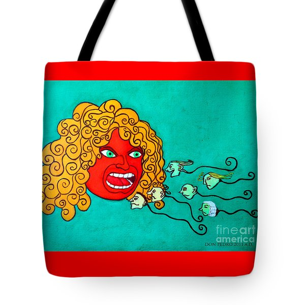 The Race. Tote Bag