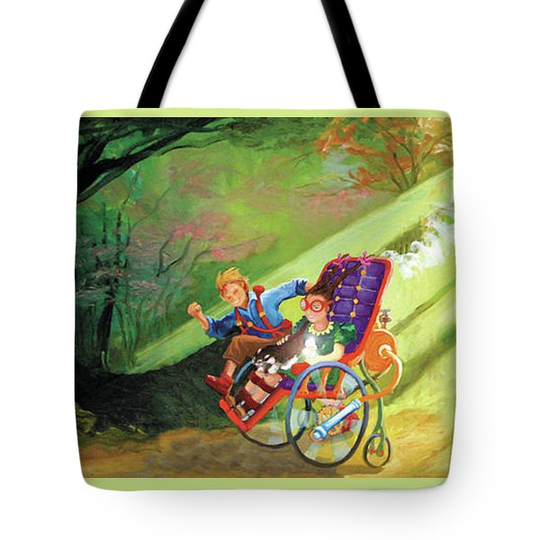 The Race Tote Bag