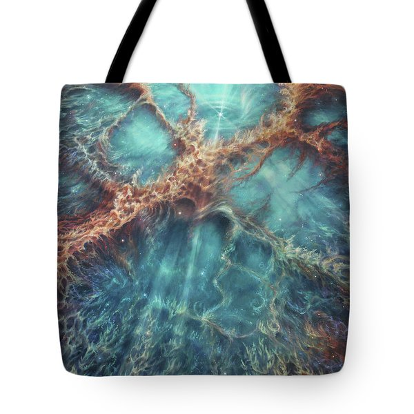 The Racing Heart Of The Crab Nebula Tote Bag