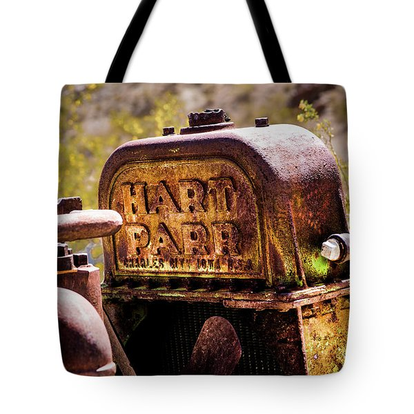 Tote Bag featuring the photograph The Radiator by Onyonet  Photo Studios