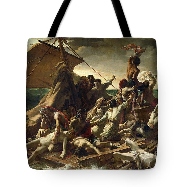 The Raft Of The Medusa Tote Bag by Theodore Gericault
