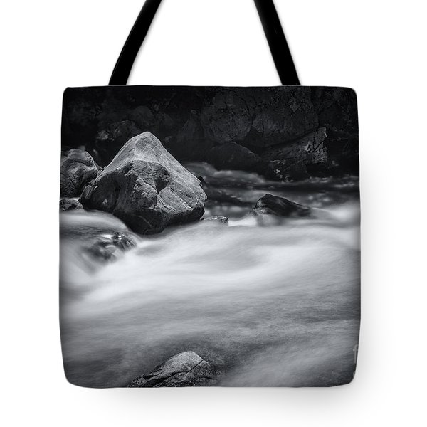 The Raging Merced River Tote Bag