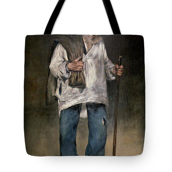 The Ragman Tote Bag by Edouard Manet